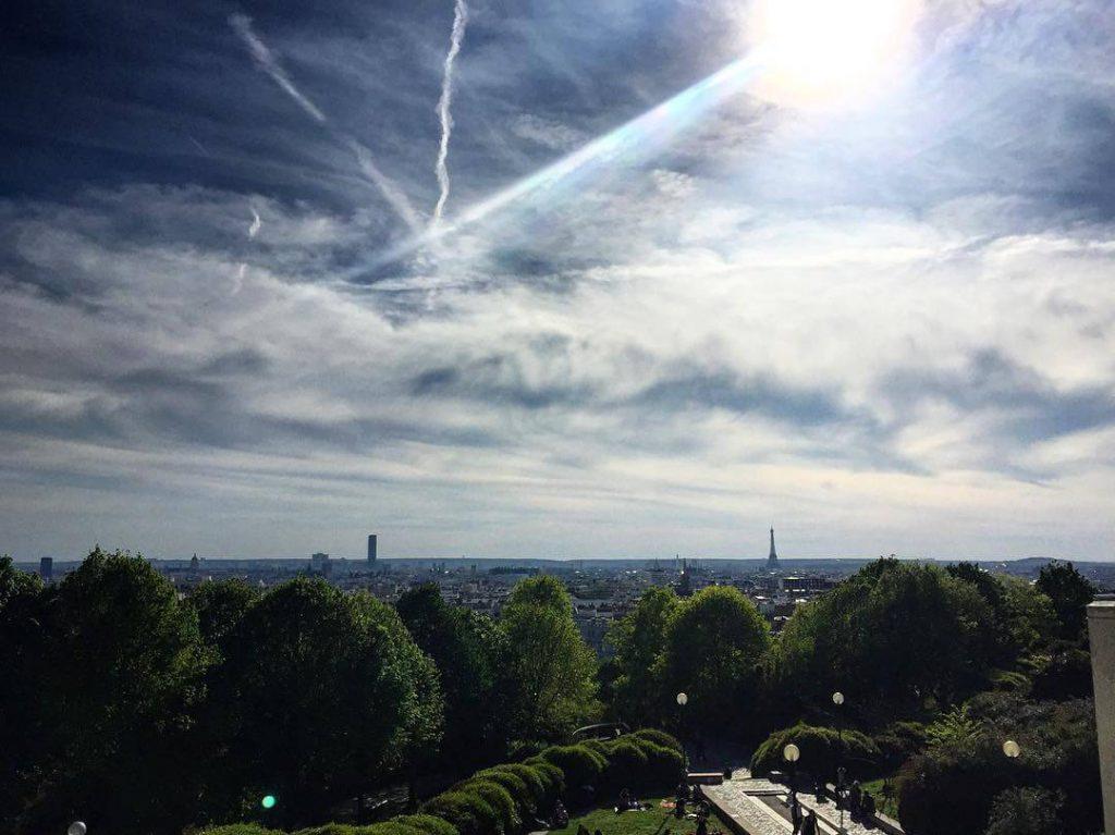 Park-Belleville-Paris